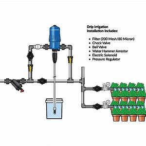 Drip Irrigation  U2013 Pro