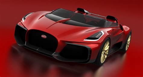 Bugatti May Build A One-Off Chiron Roadster   Carscoops