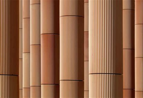facade covering spanish expo pavilion zaragoza spain