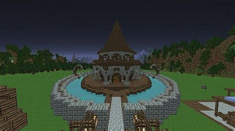 The Gallery For --> Elven Buildings Minecraft