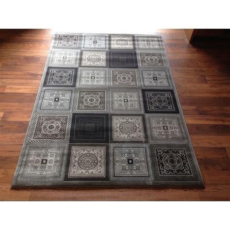 Shop Contemporary Area Rug High Quality Grey Geometric