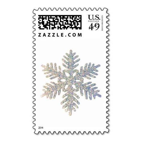 glittery snowflake postage zazzlecom  images