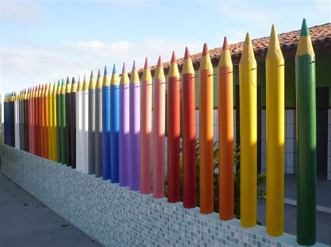 rainbow fence in 2019 home decor kindergarten design 768 | 7854846a19d27e9ccaa425af73355113