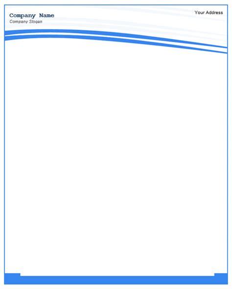 letterhead templates ms word templatehub
