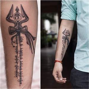 40+ Amazing Trishul Tattoo Designs - Golfian.com