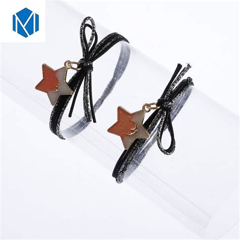 M Mism Woman Galaxy Woman Headband Hair Accessories Bling