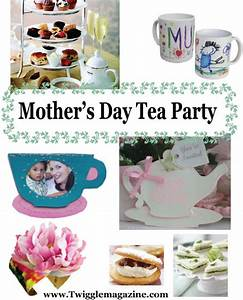 Mother's Day tea party activities, crafts, and ideas