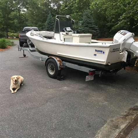 Boat Trailers For Sale On Cape Cod by 19 Seaway Boat Motor Trailer Cape Cod The Hull