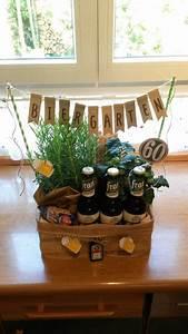 Geburtstagsgeschenk Für Den Mann : biergarten 60 geburtstag geschenk verpackungen lustige geschenke geschenke und geschenk zum 60 ~ Yasmunasinghe.com Haus und Dekorationen