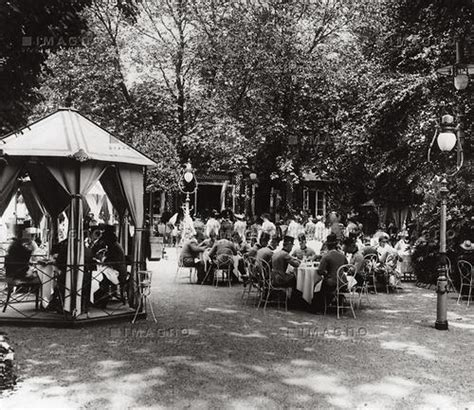 Der Garten Im Prater by Sacher Garten Prater Historische Bilder Imagno