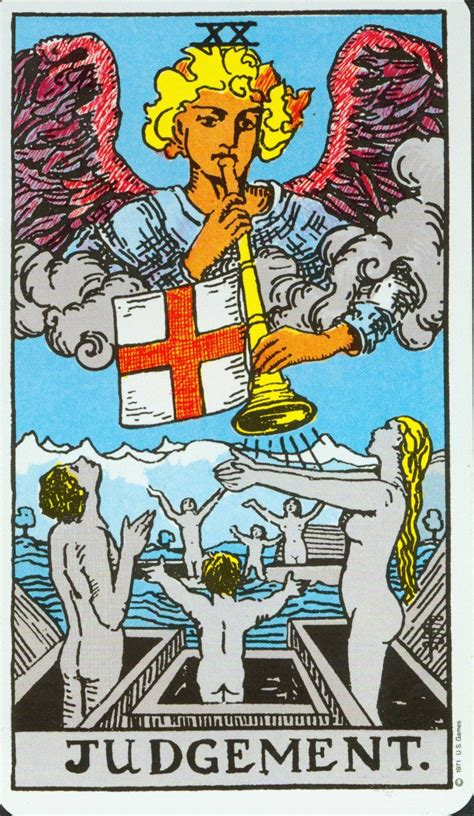 Maybe you would like to learn more about one of these? Judgement Major Arcana in 2020 | Judgement tarot card, Rider waite tarot cards, Tarot card meanings