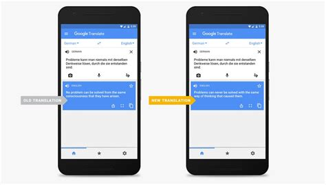 google translate  major machine learning upgrade time