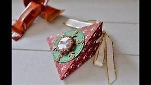 Stempel Dich Bunt : resteverwertung dreieckige box aus designerpapier schnell ~ Watch28wear.com Haus und Dekorationen