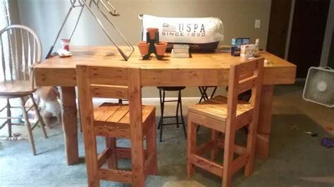big beautiful pallet kitchen table set  pallets
