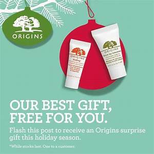 Flash and receive Origins holiday season surprise gift ...