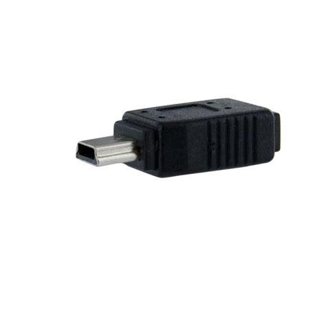micro to mini usb adapter startech