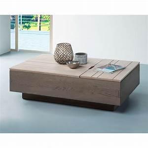 Table Basse Tableau Relevable Zen Meubles LeClerc