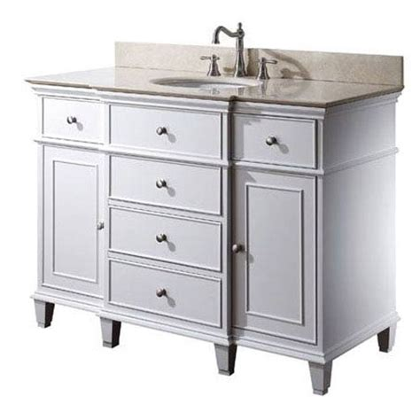 48 inch vanity cabinet only windsor 48 inch vanity only in white finish avanity