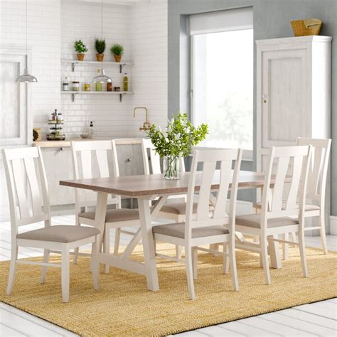 laurel foundry lombardy dining table   chairs reviews wayfaircouk