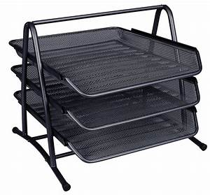 qconnect 3 tier letter tray black ebuyer With tiered letter tray