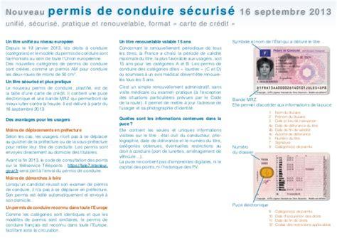 interieur gouv fr permis nouveau permis