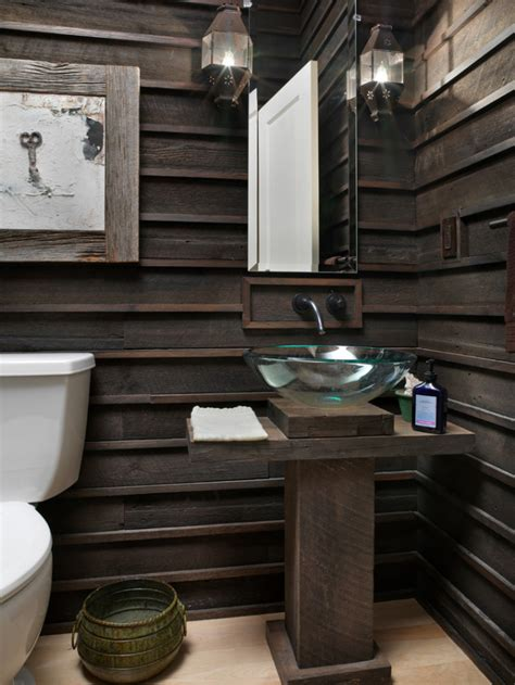 bathroom decor rustic small bathroom ideas Cabin