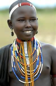 Ethiopia African Tribe Women