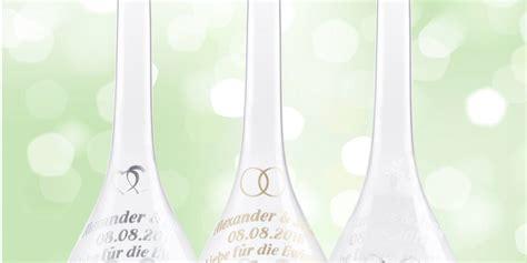 glasflasche als geschenk zur hochzeit