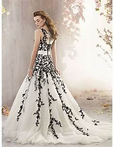 chic wedding dresses with black lace for sophisticated With black lace wedding dresses