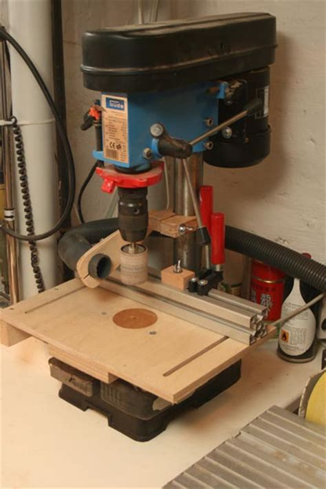 drill press table     making  vacuum