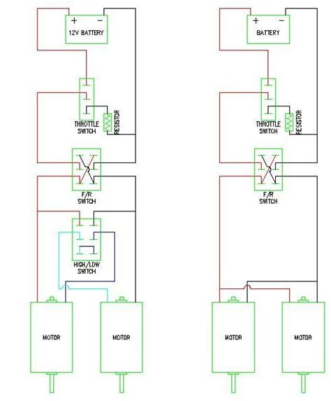 Modified Power Wheels Animated Wiring Diagrams