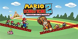 Mario Vs Donkey Kong 2 March Of The Minis Nintendo Ds