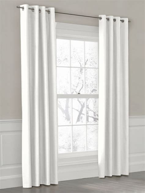 white curtains delightful decorations
