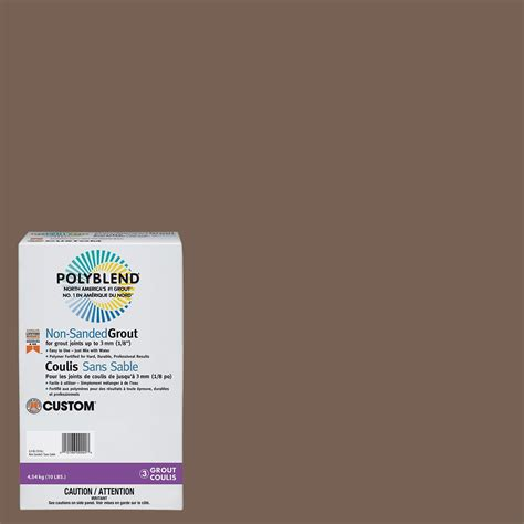 polyblend ceramic tile caulk new taupe custom building products 52 tobacco brown 10 lb non