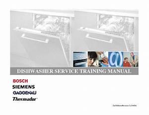 Bosch Siemens Universalanleitung Geschirrspueler Service