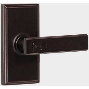 weslock keyed entry passage lever handle from home depot