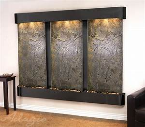 Indoor Wall Mounted & Hanging Water Features Water