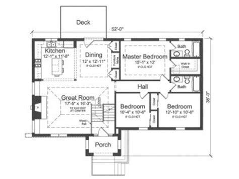 split level house plans split level home plan