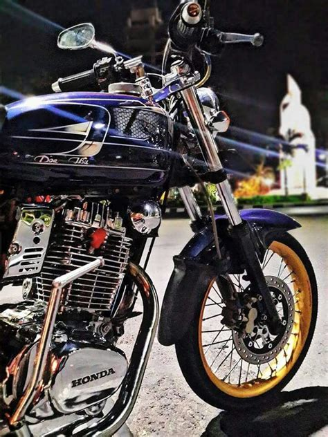 Modification Cb by Honda Cb Indonesia Modif Hobbiesxstyle