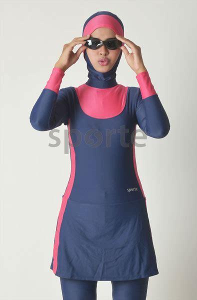 baju renang muslimah sporte sp05half efashion