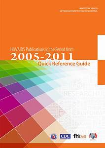 Quick Reference Guide For Hiv  Aids Publications In The
