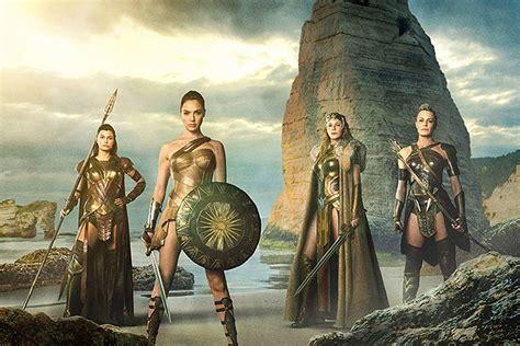 'wonder Woman' Movie First Look The Amazon Women Assemble