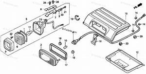 Honda Atv 1998 Oem Parts Diagram For Taillight