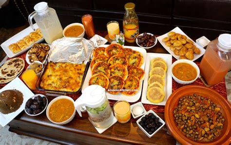 de cuisine orientale pour le ramadan ma table de flour chhiwat ramadan 2017 sousoukitchen