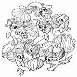 Pony Coloring Pages Movie Cartoon sketch template