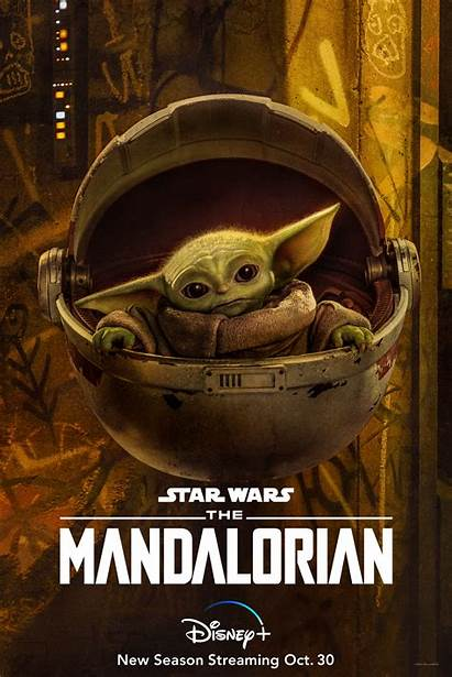 Mandalorian Season Poster Character Posters Disney Child