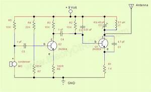 Simple Fm Transmitter - Theorycircuit