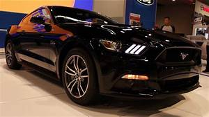 Ford Mustang 2015 Black - amazing photo gallery, some information and specifications, as well as ...