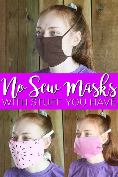 easiest  sew face masks   country chic