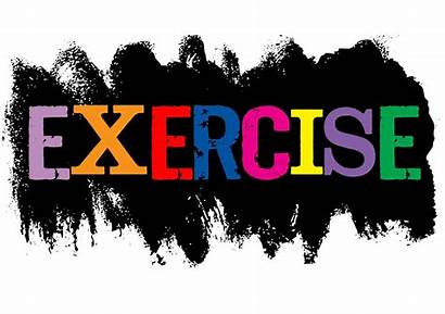 Exercise Word Importance Exercising Health Clipart Beginners